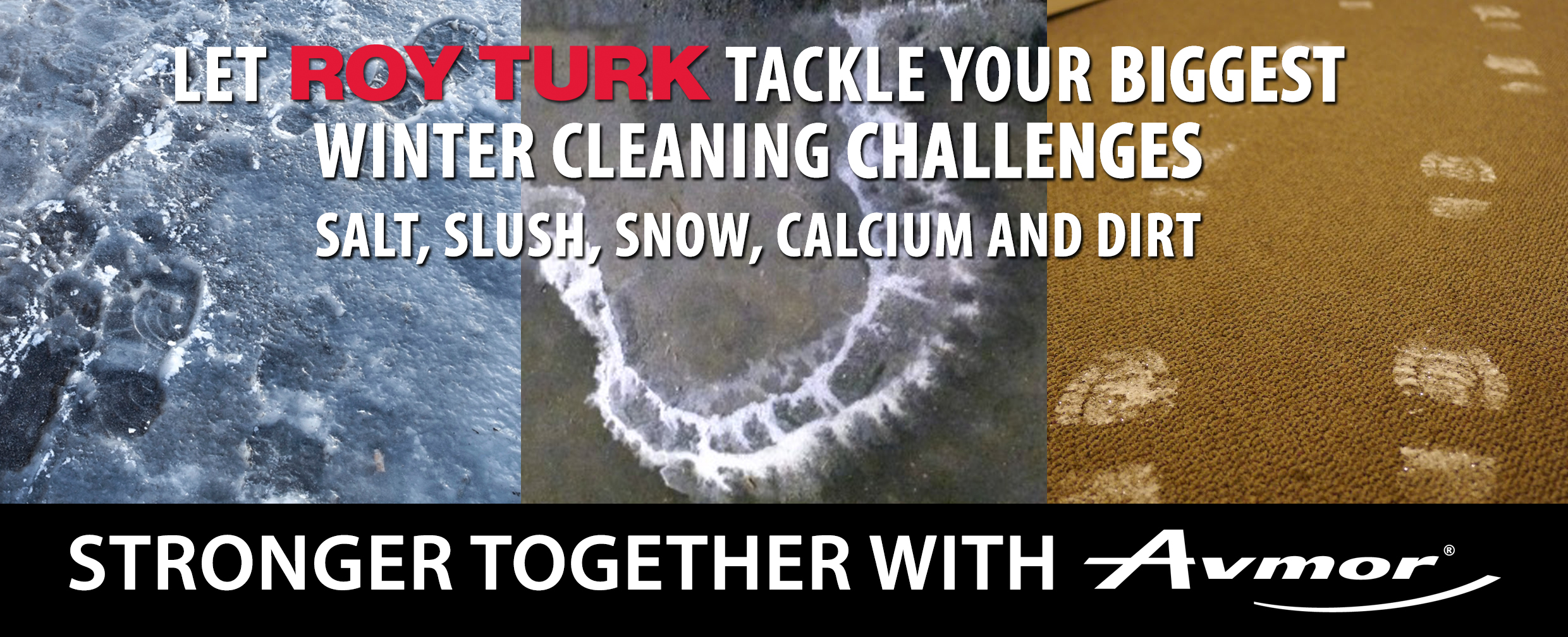 Winter Cleaning Challenges Salt