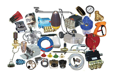 Pressure Washer Equipment Parts