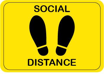 Social Distance Label